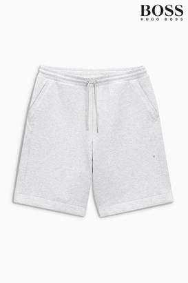 Next Mens BOSS Grey Headlo Jersey Short