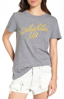 Women's Sub_Urban Riot Enlighten Up Graphic Tee $34 thestylecure.com