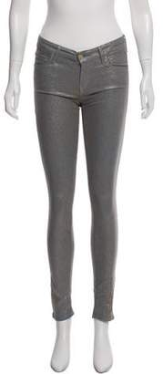 Mother Low-Rise Skinny Pants