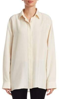 The Row Big Sisea Silk Shirt