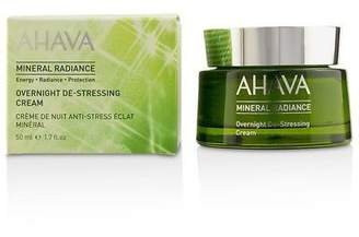 Ahava NEW Mineral Radiance Overnight De-Stressing Cream 50ml Womens Skin Care