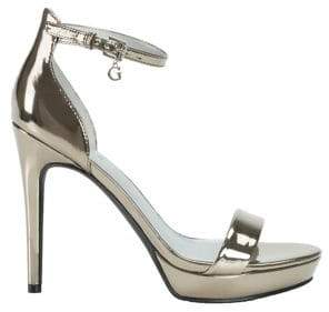 GUESS Martens Ankle-Strap Sandals