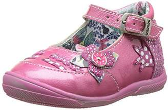 Catimini Baby Girls' Patou First Walking Shoes Pink Size: 5 Child UK