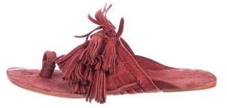 Figue Scaramouche Suede Sandals