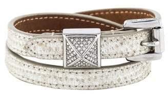 Michael Kors Glam Rock Crystal Pyramid Wrap Bracelet
