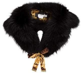 Versace Finn Fur Collar w/ Tags