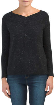 Cashmere Donegal Tweed Tunic