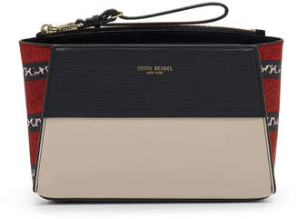 Henri Bendel Tilda Color Blocked Crossbody Clutch
