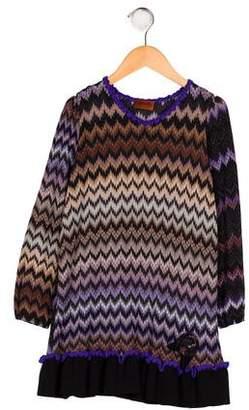 Missoni Kids Girls' Wool-Blend Dress