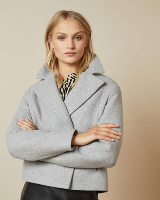 Ted Baker AGNETA Wool boxy jacket