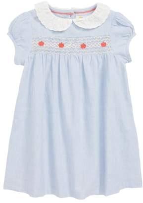 Boden Mini Pretty Collar Smock Dress