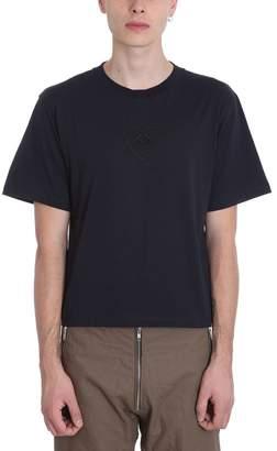 Gmbh GMBH Biker Blue Cotton T-shirt