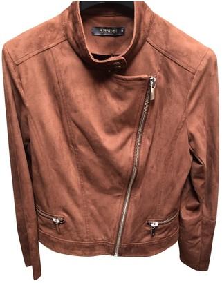 Supertrash Brown Suede Jacket for Women