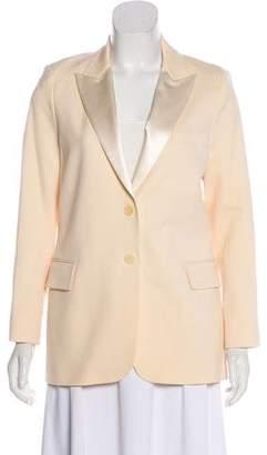 Theory Wool Button-Up Blazer