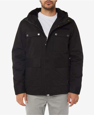 O'Neill Men's Edgewater Fleece-Lined Hooded Parka
