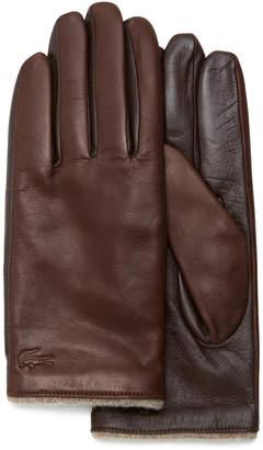 Lacoste (ラコステ) - メリノウール裏革手袋