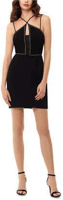 Xscape Evenings Studded Strappy Bodycon Dress
