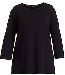 Misook Misook, Plus Size Misook, Plus Size Women's Three-Quarter Sleeve Tunic
