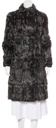 Burberry Long Fur Coat