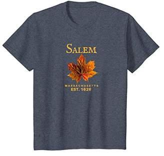 Salem Massachusetts Fall Leaf Tee