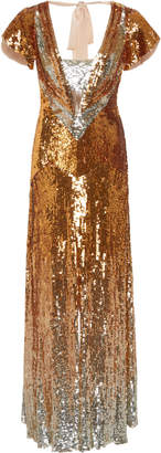 Temperley London Exclusive Ruth Sequined Gown