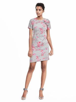 Ikat Ruffle Shoulder Dress $128 thestylecure.com