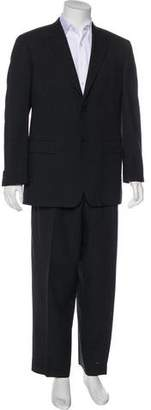Prada Twill Virgin Wool Suit