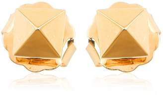 Artisan 18K Yellow Gold Spike Earrings