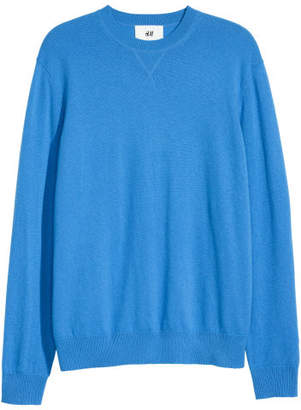 H&M Cashmere Sweater - Blue