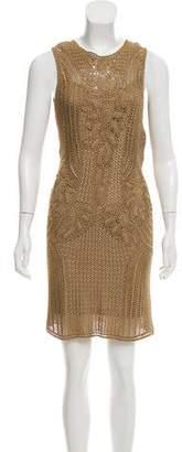 Ralph Lauren Open Knit Sleeveless Dress