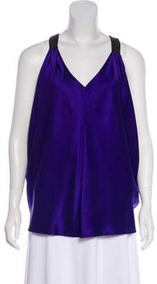 Laila Azhar Silk Sleeveless Top