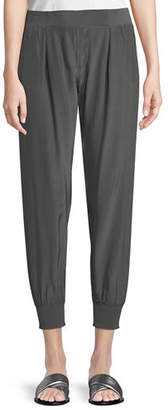 ATM Anthony Thomas Melillo Cropped Pants W/ Elastic Cuffs