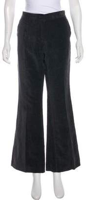 Yang Li Mid-Rise Wide-Leg Pants