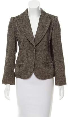 Sonia Rykiel Structured Tweed Blazer