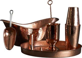 Sertodo Copper Deluxe Home Copper Bar Set