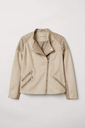 H&M H&M+ Biker Jacket - Brown