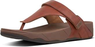 FitFlop Ethan Leather Toe-Thongs