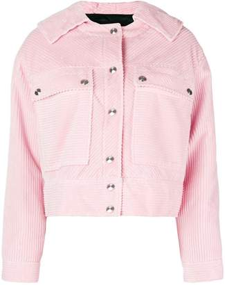 Cédric Charlier cropped longsleeved jacket