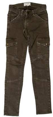 Current/Elliott Low-Rise Skinny Jeans