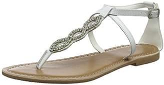 New Look Women's 5815113 Open Toe Sandals, (White 10), 41 EU