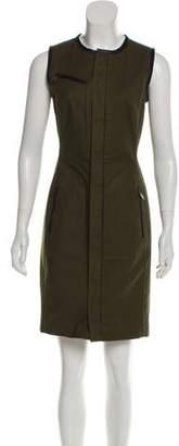 Ralph Lauren Black Label Woven Knee-Length Dress