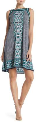 Max Studio Print Matte Jersey Dress