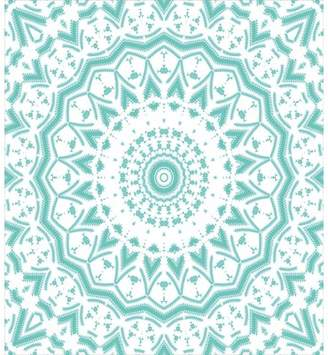 Ambesonne Mandala Indian Ethnic Decor Tie Dye Floral Leaves Seem Design Image Print Duvet Set