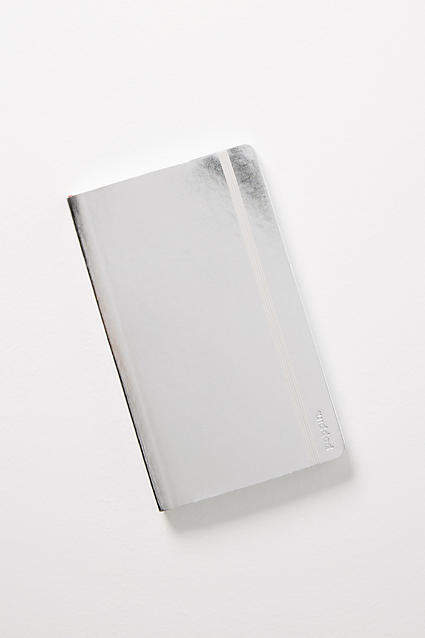 Metallic Soft Cover Notebook