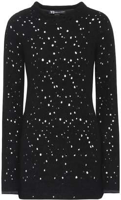 Y-3 Y 3 Wool-blend sweater