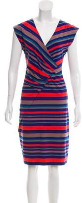 Marc by Marc Jacobs Striped Gathered Dress