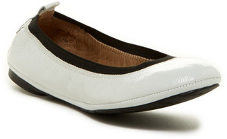 Delman Maxie Patent Leather Skimmer Flat $198 thestylecure.com