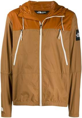 The North Face hooded shell jacket