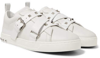 Valentino V-Punk Leather Sneakers