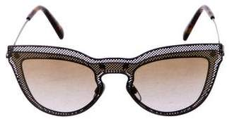 Valentino Cat-Eye Gradient Sunglasses